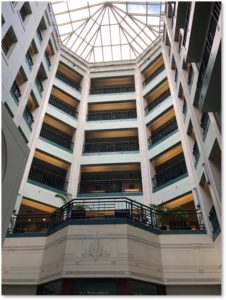 Berkeley Building Atrium, Finegold Alexander, Art Deco
