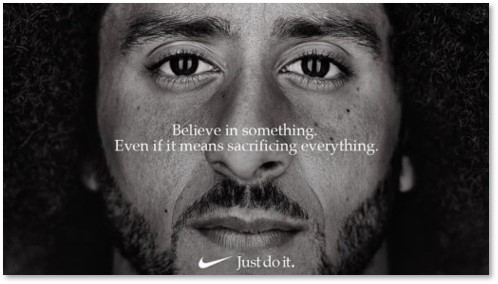 Colin Kaepernick, Nike, Just Do It