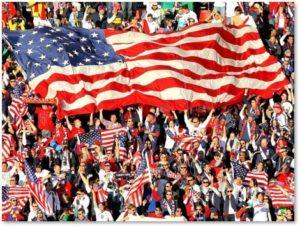 American People, American Flag