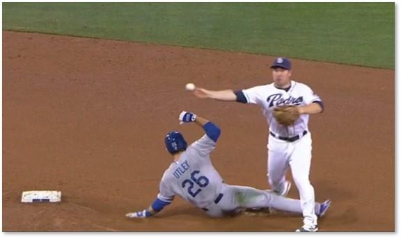 Major League Baseball, neighborhood play, second base, double play