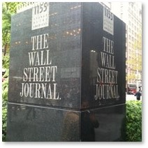 The Wall Street Journal, logo, headquarters