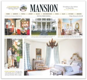 The Wall Street Journal, Mansion Section, real estate, home