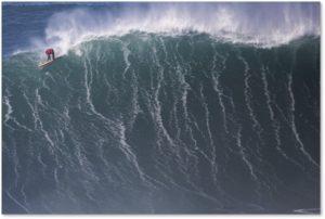 big-wave surfing, Nazare, Portugal