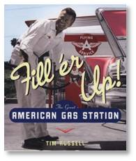 full-service gas station, Flying A, American gas station