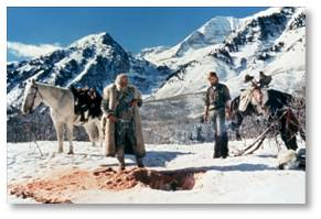 Jeremiah Johnson, Robert Redford, Will Geer