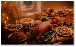 Christmas feast, Christmas goose, roast goose