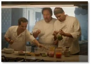 Chef, Jon Favreau, Dustin Hoffman, Bobby Cannavale, John Leguizamo