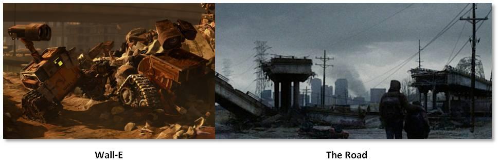 Wall-E, The Road, Viggo Mortenson