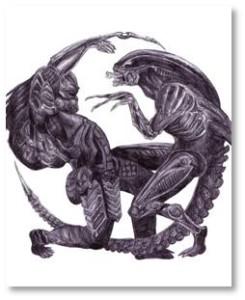 Alien vs Predator, Alien Queen, Predator