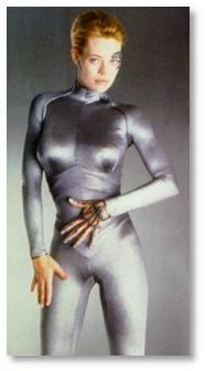 Jeri Ryan, Seven of Nine, Star Trek: Voyager, Borg