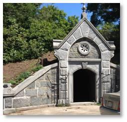 Receiving Tomb, Milton Cemetery