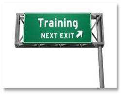 Road Sign: Training--Next Exit