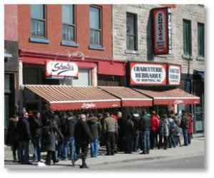 Schwartz's Deli, Schwart's Charcuterie Hebraique de Montreal, smoked meat