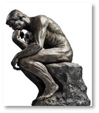 The Thinker, August Rodin, The Gates of Hell