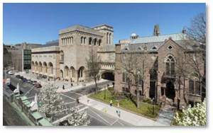 Art Museums: Yale Art Gallery, Chapel Street, New Haven, Yale University