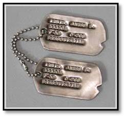 dog tags, soldier, Veterans Day, Armistice Day