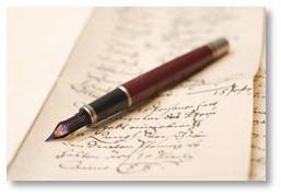 Pen and paper, writing, the craft of writing