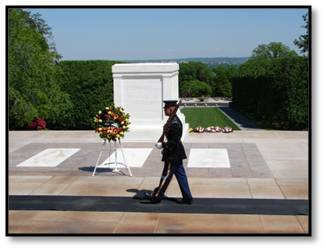 Tomb of Unknown Soldier, Tomb of the Unknowns, Tomb Guard, Washington DC