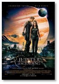 Jupiter Ascending, Mila Kuniss, Channing Tatum, Sean Bean