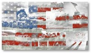 Old American Flag, government shutdowns