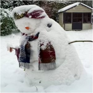 snowman, freezing, wind chill, frostbite