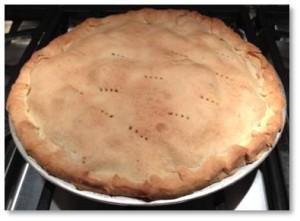 apple pie, home-baked apple pie
