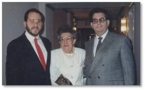 George, Sarah and Seth Kaplan