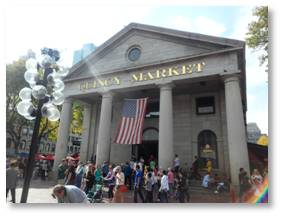 They have increased and improved the public restrooms at Quincy Market, one of the most heavily visited tourist attractions int the country.