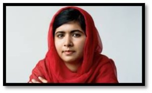 She is Malala Yousafzai, whose life was forever changed at age 15 by a Taliban bullet.