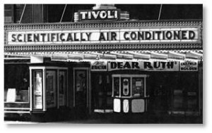 "If you wanted air conditioning—the real deal—you went to the bank or the movies. Theaters advertised that they were ""healthfully"" or ""scientifically"" cooled by refrigeration and the price of a ticket would also buy you two hours of relief from the summer heat."