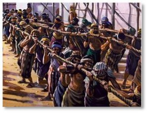 People figure out how to live without abuse. They learn why it's good to live without abuse. Heck, even the Israelites escaped from Pharaoh's slavemasters because wandering in the Sinai desert was a better choice than one more day of building pyramids under the overseer's lash.
