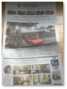 The Wall Street Journal has a real estate section that comes out every Friday. In true @WSJ style, it's not called Real Estate, or Homes, or even Estates. No, it's called Mansions. I guess if your target audience is the One Percent you can just put it right out there.