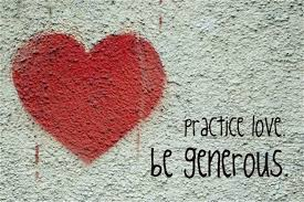 Practice Kindness, Be Generous