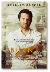I knew Burnt had gotten only tepid reviews—29% Rotten on Rotten Tomatoes. But 61% of the fan reviews Liked it. Hmmm.