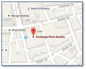 53 State Street and Exchange Place Map