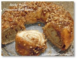But this year I'm going to make a Pecan Roll. This was my mother's signature Christmas dish and she made it every year along with a Swedish Tea Ring. I always preferred the former as I like nuts more than frosting and candied fruit. But I have never actually baked one because it starts with sweet dough and that requires the usual rising and punching down, etc. As a working mother, I never had the time for the multiple steps and replaced the Pecan Roll with a one-step Sour Cream Streusel Bundt Cake. It involved mixing a box of cake mix, a box of pudding and several other ingredients. The cake tasted great but I no longer eat the kinds of chemicals and preservatives that go into all those mixes. It's time to pull out the food processor with dough hook and try something new.