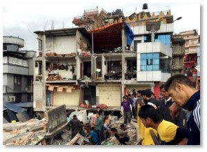Catastrophes happen everywhere: fire, flood, earthquake, tsunami, tornado, hurricanes. When they happen they leave thousands, sometimes millions, homeless and vulnerable to cold, rain, or heat. What they need is simple, pre-fab housing that can go up in a day and provide shelter before nightfall. They don't have to be big and fancy. They don't even need to have plumbing—at least not at first.