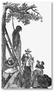 "The stern Puritans population also used the Great Elm for ""civic corporal punishment."" They hanged murderers, thieves, witches, deserters, pirates, and Indians condemned to death from one the elm's lower branches. The victims included religious dissenters such as Quakers William Robinson, Marmaduke Stephenson, and Mary Dyer. Accused witches Ann Hibbens and Goody Glover met their end here."