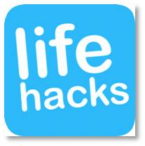 """Life hack links and videos were popping up in my Pinterest and Facebook feeds on a regular basis and I worked hard at ignoring them.  A few months ago curiosity got the better of me; I caved and clicked, discovering what can only be described as some pretty outside-the-box ideas.  My first thought was, """"who thinks up these things?"""" followed by """"I wonder if they actually work?"""""""
