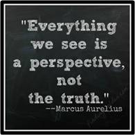 Each of us has a way of seeing the world. The experiences of life, upbringing, education, and cultural exposure shape this outlook.  When we think of these points of view, two words are used interchangeably even though they are not; perspective and perception.
