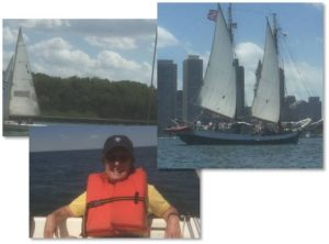 I don't have clever introduction to today's monthly roundup of May 2016 posts because yesterday we went sailing. Some new friends invited us to sail out to and around the harbor islands and that seemed much more compelling than sitting at my computer. So here are a few photos from our outing following by the roundup of posts.
