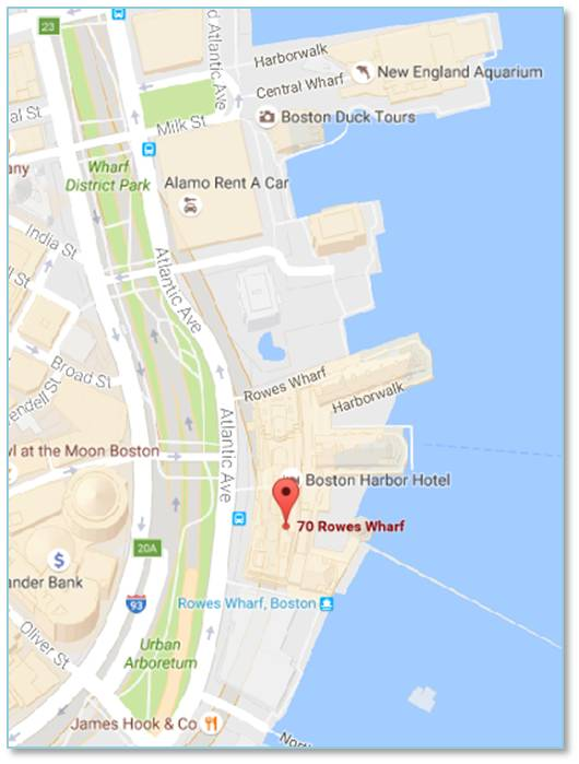 Hotel Boston Map.Boston Harbor Hotel Map The Next Phase Blogthe Next Phase Blog