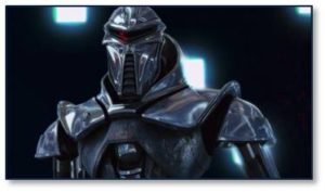 "Ironically, the humans of Battlestar Galactica 2 called the Cylons ""toasters"" as a pejorative term. They intended this to demean the big chrome Centurions but also to reminded themselves that even the Cylons with a human form factor were just machines."