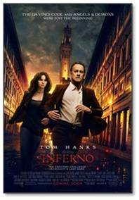 Okay we knew Inferno was going to be bad but we wanted to take a short trip to sunny Italy. So we jetted around Florence and Rome from our seat in the theater and had fun doing it.