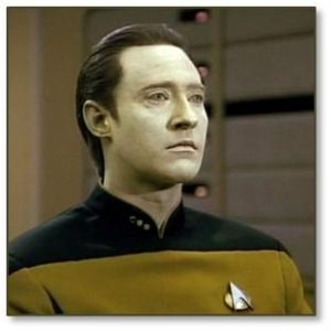 Robots that want to be human. This trope gained wide awareness through the efforts of Star Trek's Mister Data to become a true member of the Enterprise senior staff. He behaves like a human except for three things: