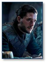 The Man Bun.  Jon Snow, Yes.  Everybody else: No.