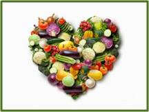 the healthy vegetarian heart