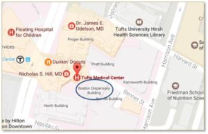 Boston Medical Dispensary, Tufts Medical Center, Good Samaritan, 19 Bennett Street