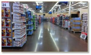 Robots buy nothing: empty Walmart Store
