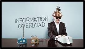 information overload, age of too much information